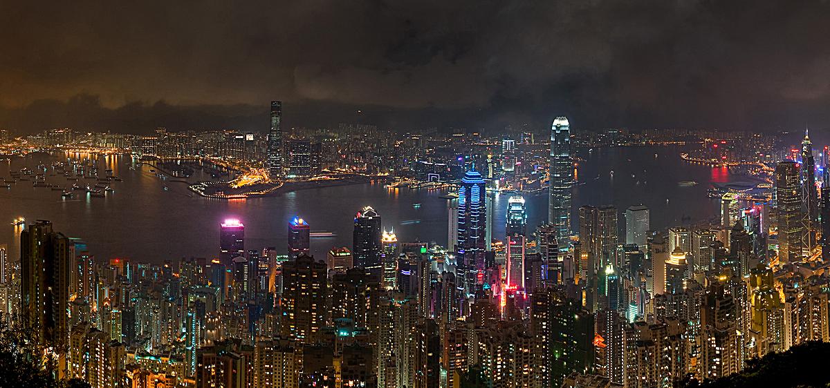 大气城市风景背景