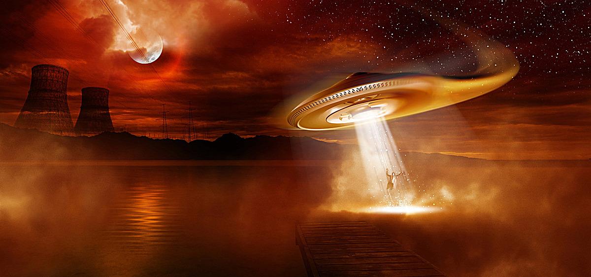 ufo不明飞行物高清壁纸