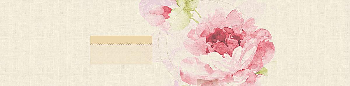 米色质感水彩手绘背景jpg素材-90设计