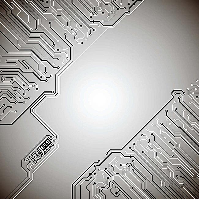 炫酷电路电子科技背景
