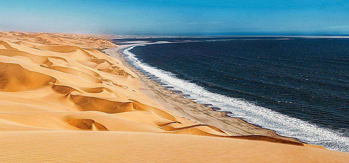 海浪 沙漠 风景 大气 旅游 海报banner             此素材是90设计