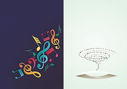 音乐符号高清背景素材下载 千库网 第4页图片