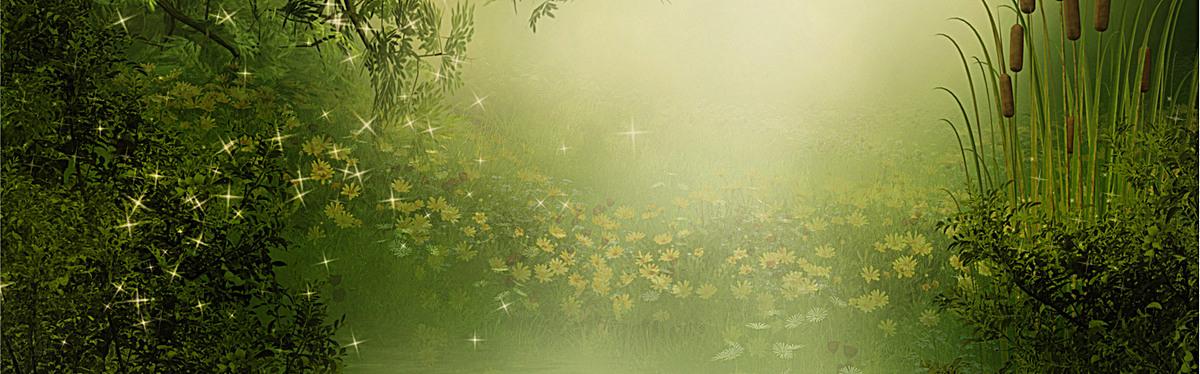 海报背景_梦幻森林背景jpg素材-90设计