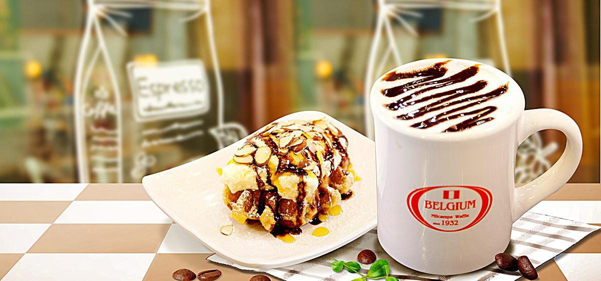 食品�zl�9��9�+_唯美背景食品餐饮美食雪糕甜点海报banner