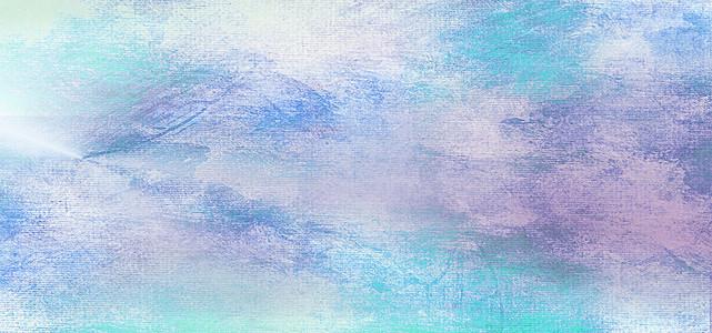 星空水彩动物-蓝色配色高清背景素材下载 千库网