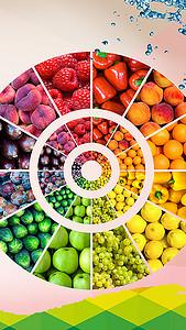 新鲜水果H5背景