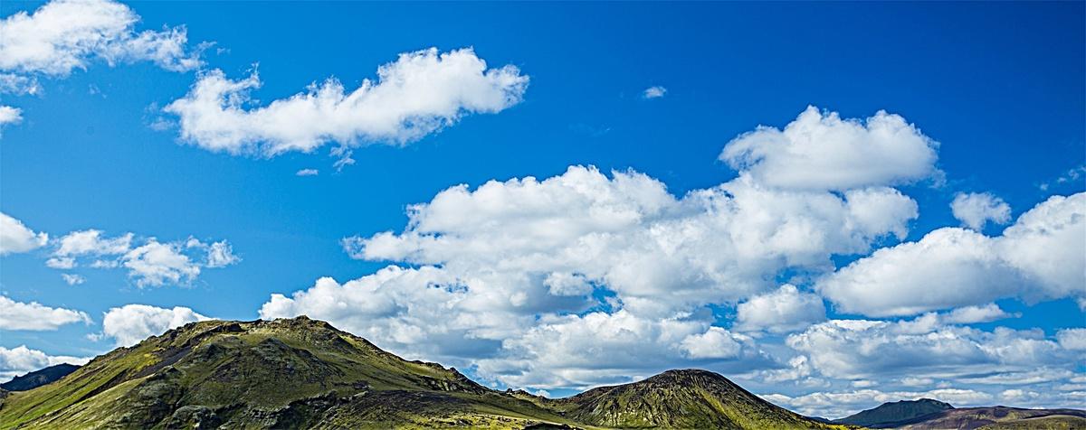 风景自然蓝天白云背景