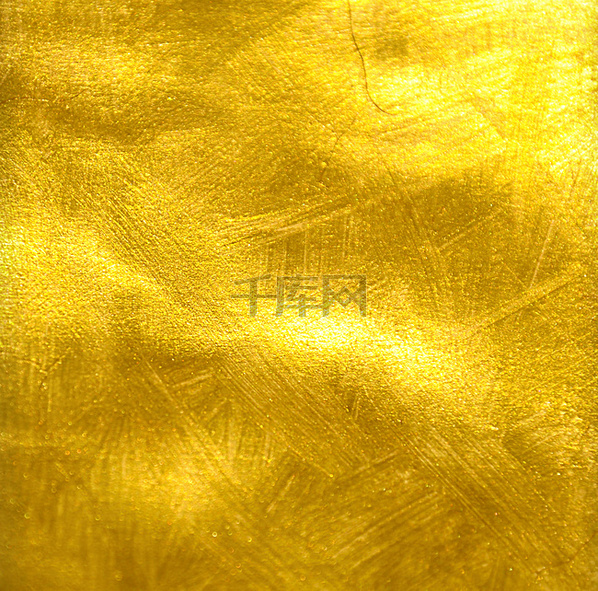 金色金泊纹理背景