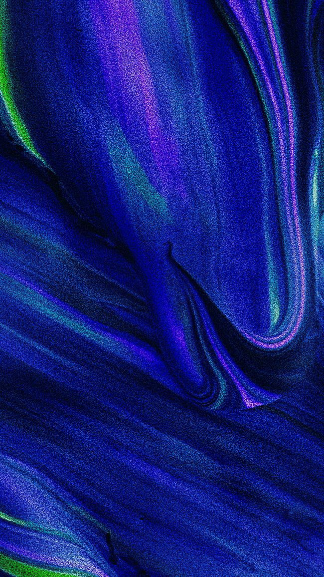 蓝色花瓣h5背景jpg素材-90设计