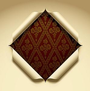 菱形折纸效果海报背景 4961 7051 -折纸效果高清背景素材下载 千库网