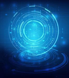 未来智能科技背景