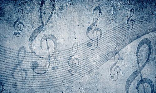 手绘高音谱号背景素材 3508 2480 -高音背景素材 高音高清背景下载