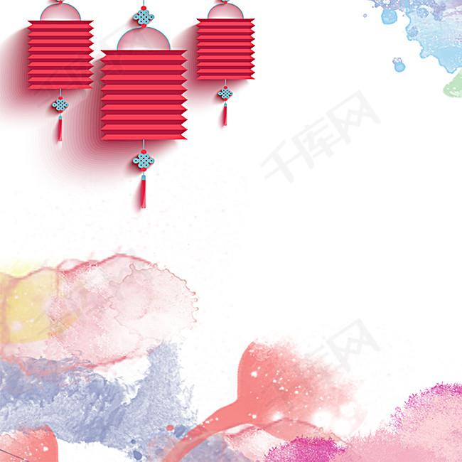 春节背景海报