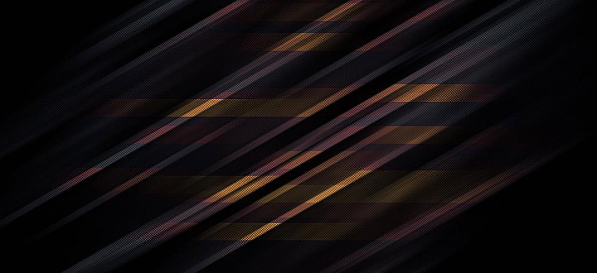 渐变蓝底黄色斜线背景jpg素材-90设计
