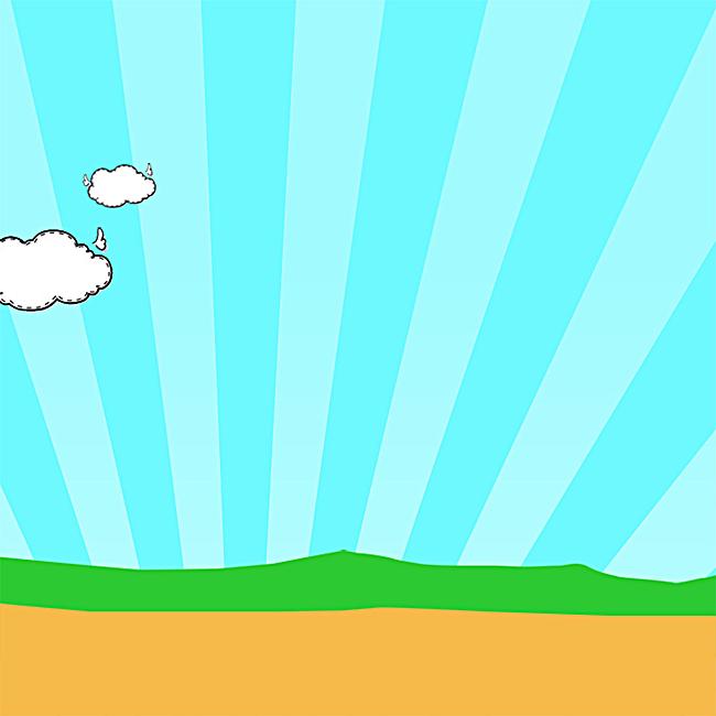 儿童手绘背景主图