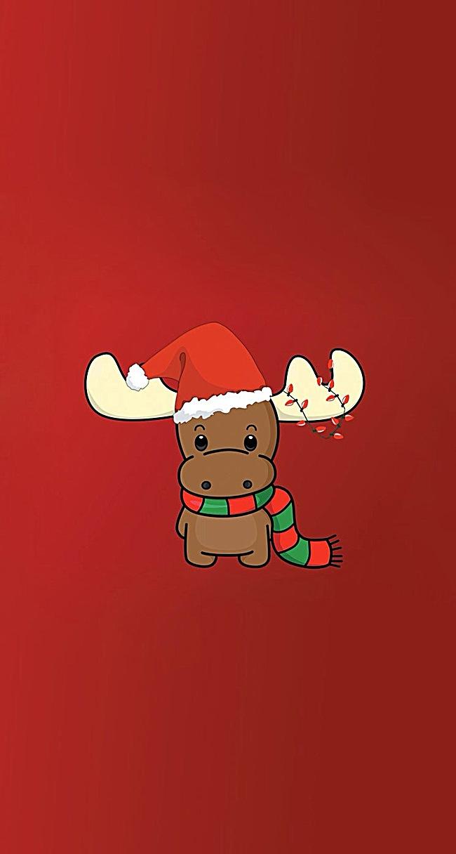 点击右侧免费下载按钮可进行圣诞节小鹿淘宝设计素材高速下载.
