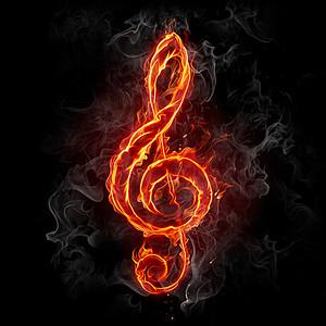 音乐符号高清背景素材下载 千库网图片