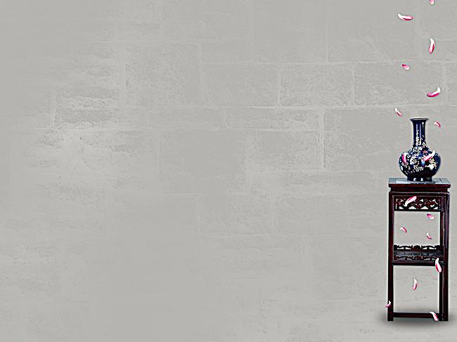 古典中国风灰色背景jpg素材-90设计