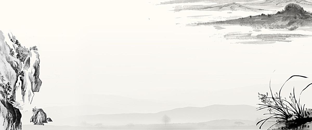 中国风灰色海报背景psd素材-90设计