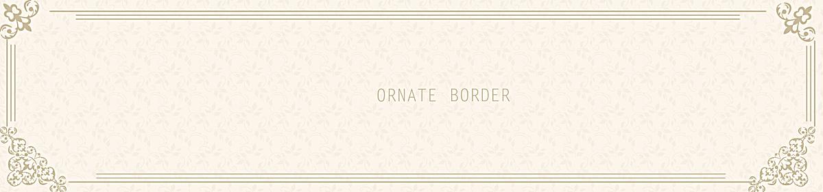 底纹黄色底色暗纹花纹边框欧式背景psd素材-90设计