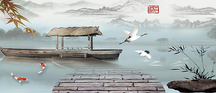 船水背景素材 船水高清背景下载 千库网