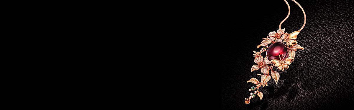 图片 > 【psd】 珠宝科幻黑色banner背景  分类:质感/纹理 类目:其他