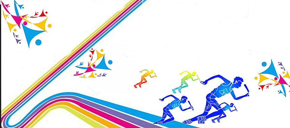校园艺术节白色海报背景psd素材-90设计图片