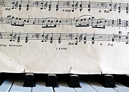 乐谱 音乐笔记