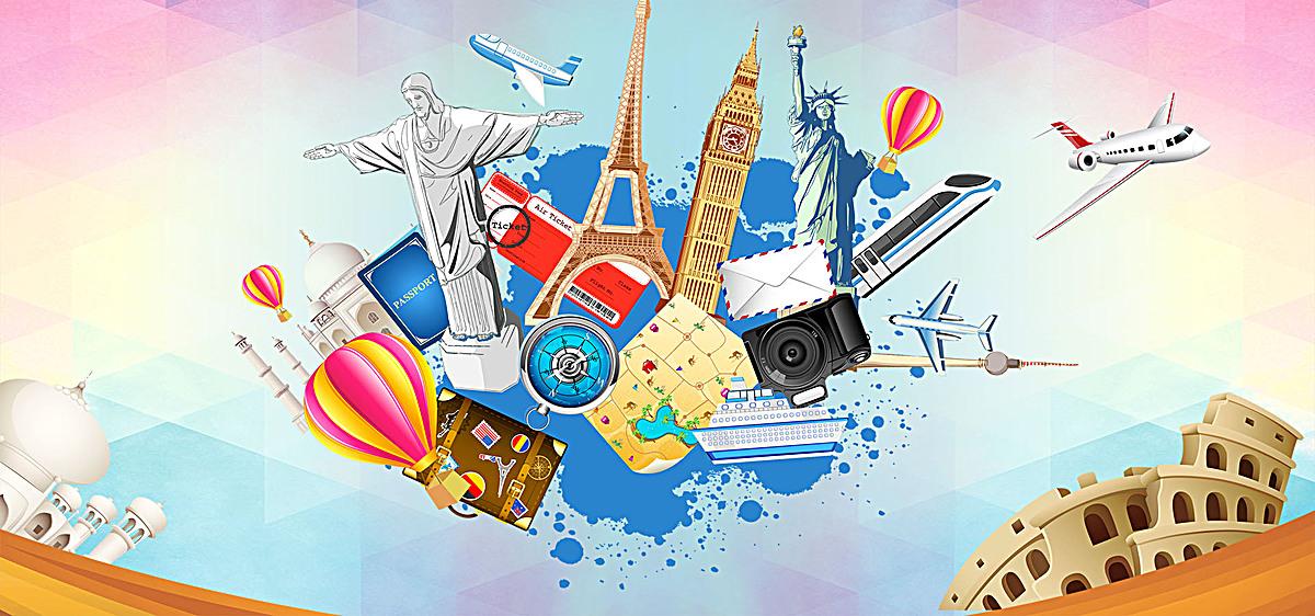 度假旅游招商海报psd素材-90设计图片