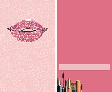 美容美发名片背景素材 6050 3712 -美发名片高清背景素材下载 千库网图片