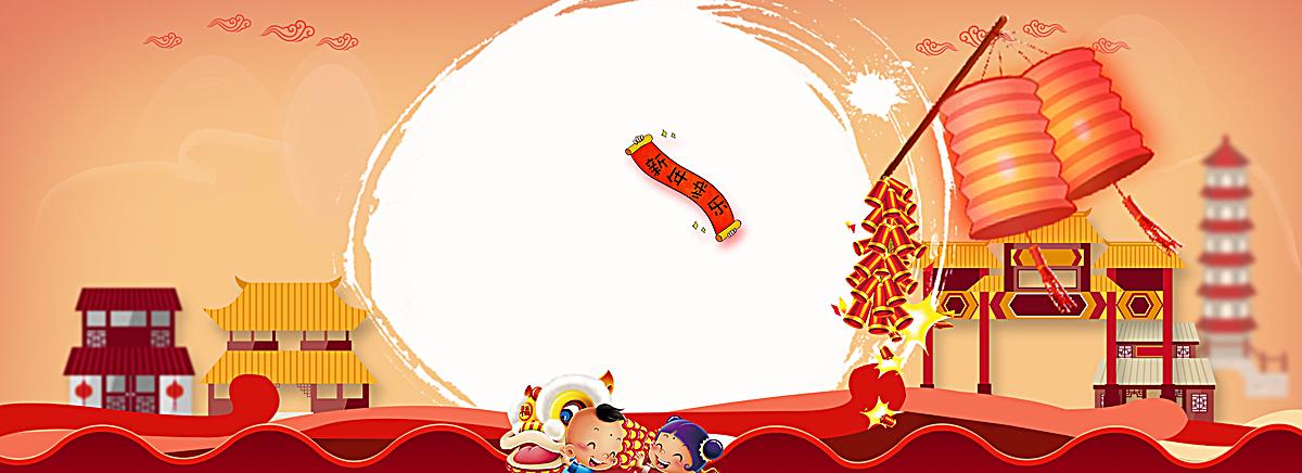 鸡年红色中国风科技创意海报psd素材-90设计