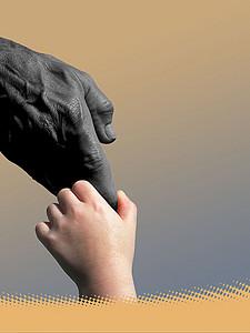 手绘卡通儿童公益海报背景素材 2480 3508 -儿童公益高清背景素材下图片