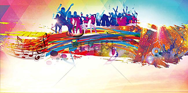 舞動青春舞蹈大賽海報背景素材背景圖片免費下載 廣告背景 psd 千庫