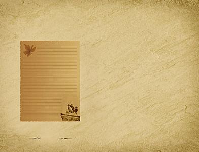 泛黄纸张高清背景素材下载 千库网图片