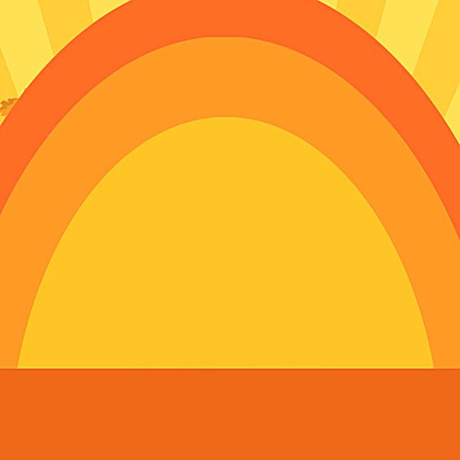 橙色几何圆圈促销psd分层主图背景素材