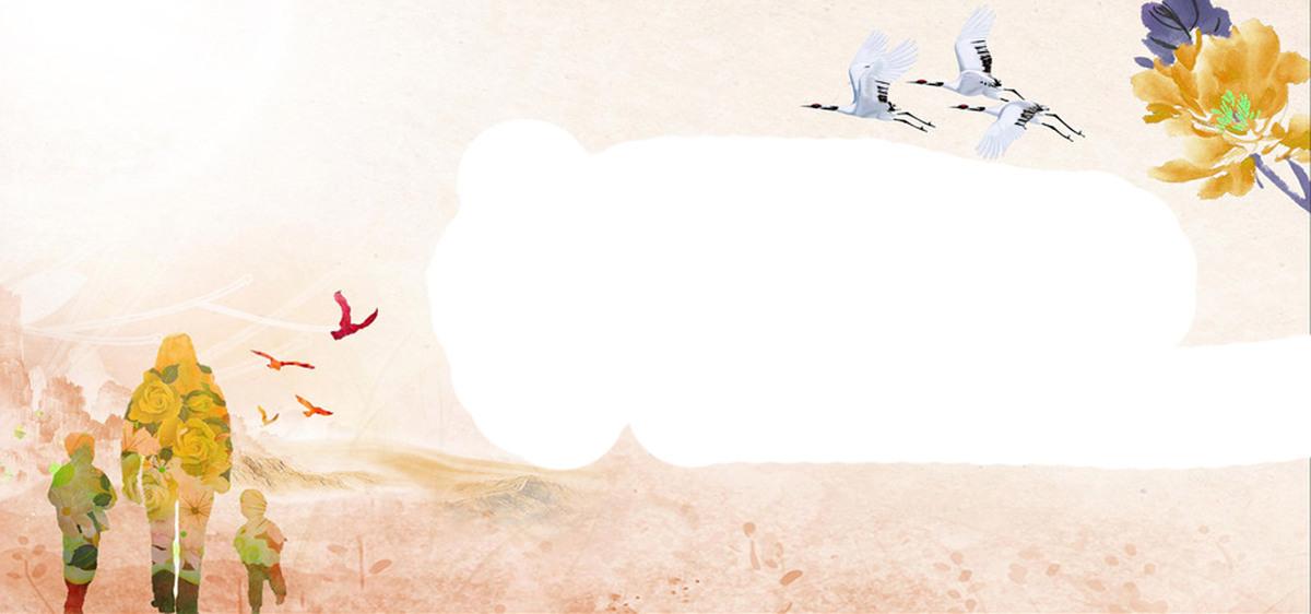 童趣手绘海报边框