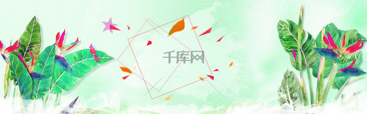 淘宝春季新款海报
