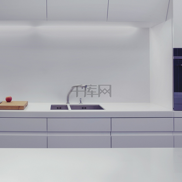 现代化家居厨房家电主图背景素材