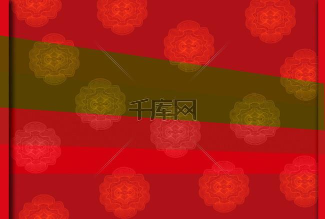 中国风古典花纹背景