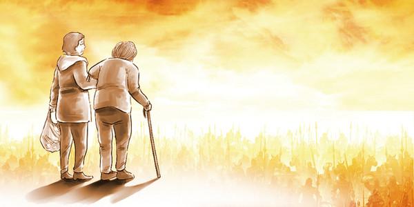 养老院老人生活图片_【关爱老人背景图片】_关爱老人高清背景素材下载_千库网