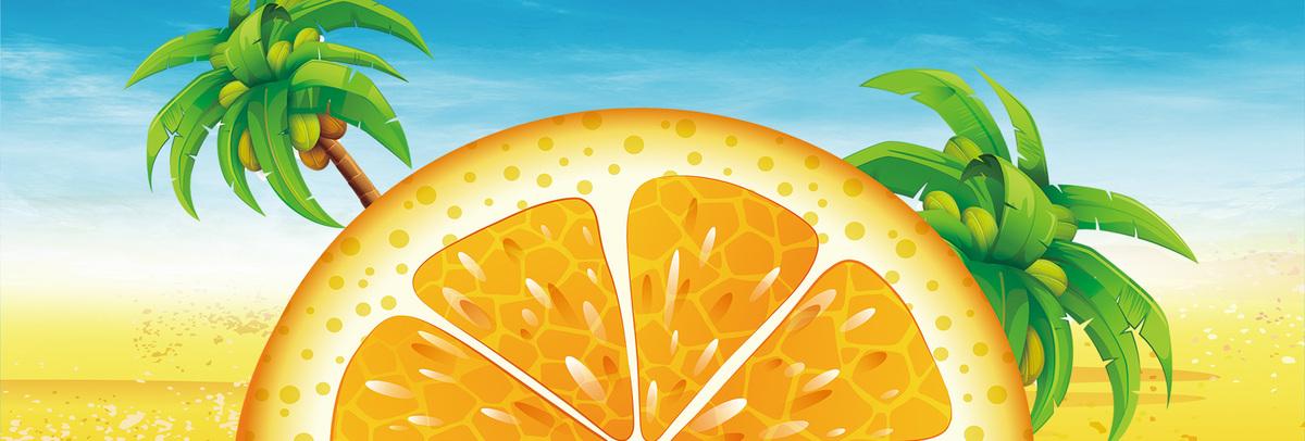 电商夏季夏天夏日清新夏装海报psd素材-90设计