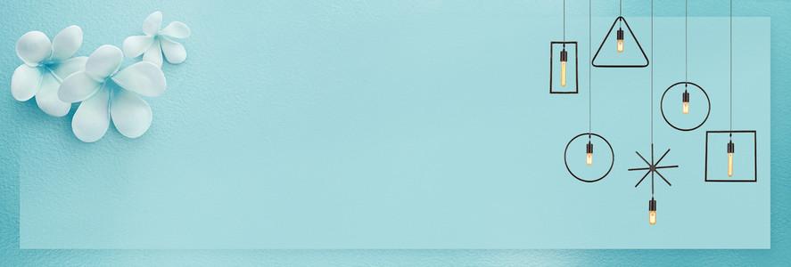 淘宝天猫家装家居家具促销海报背景图片素材