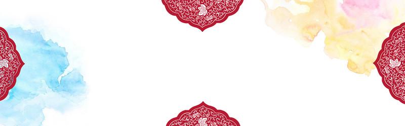 红色喜庆banner背景图