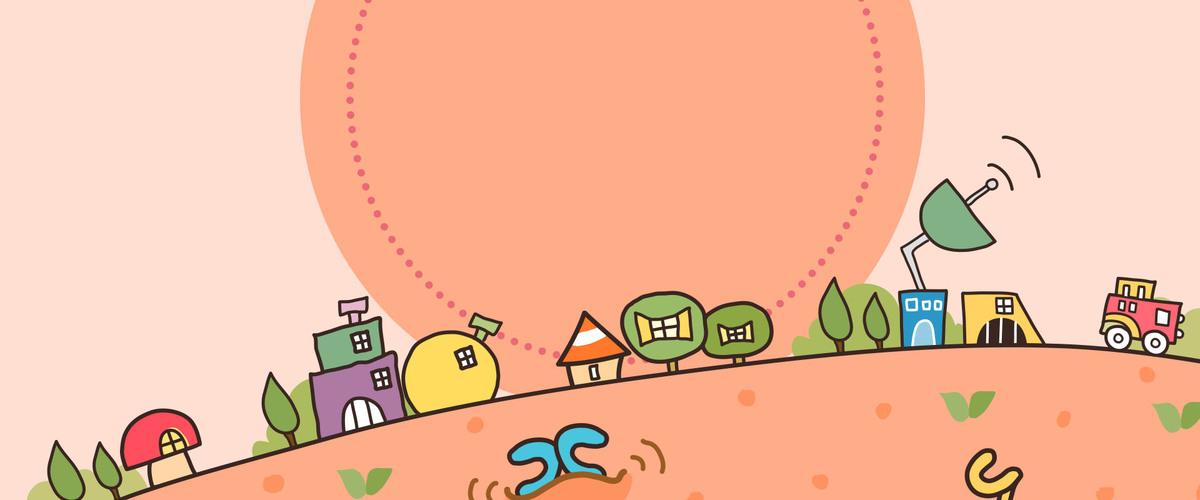 图片 > 【psd】 开学季童趣清新海报背景  分类:卡通/手绘 类目:其他