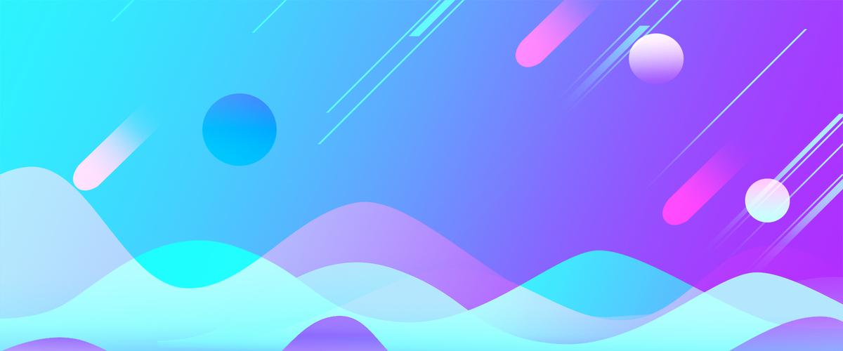 上传时间:2017-10-28 10:36 90设计提供紫色渐变简约几何创意双十一