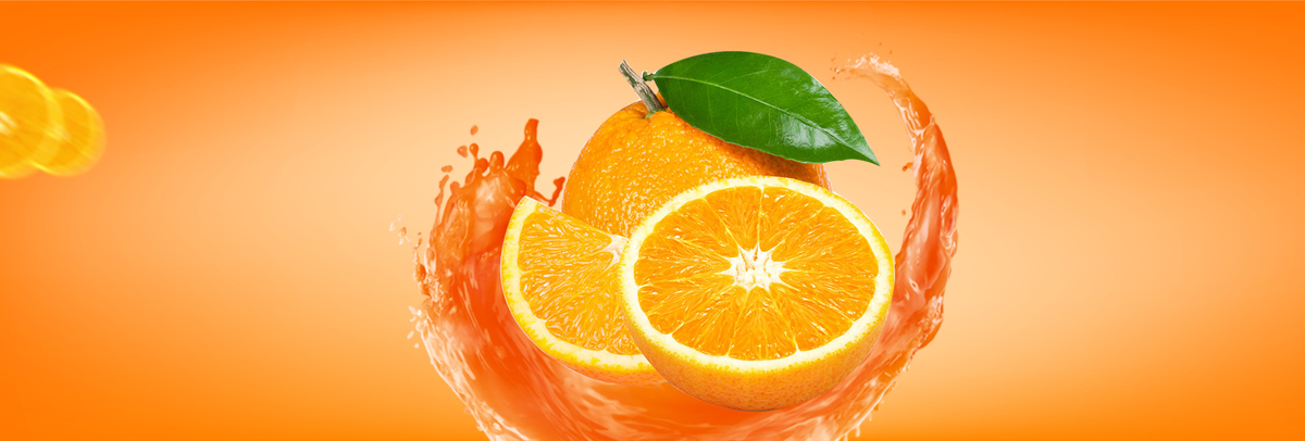 橘子手绘banner