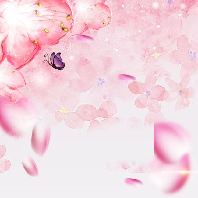 浪漫粉色背影图片_psd素材免费下载_ 800*800像素(:)