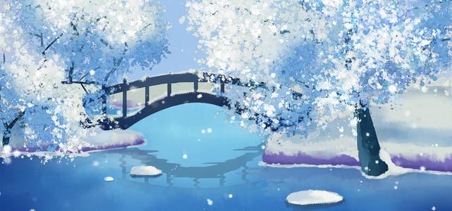 冬雪花海报图片 冬雪花海报设计 千库网 第3页