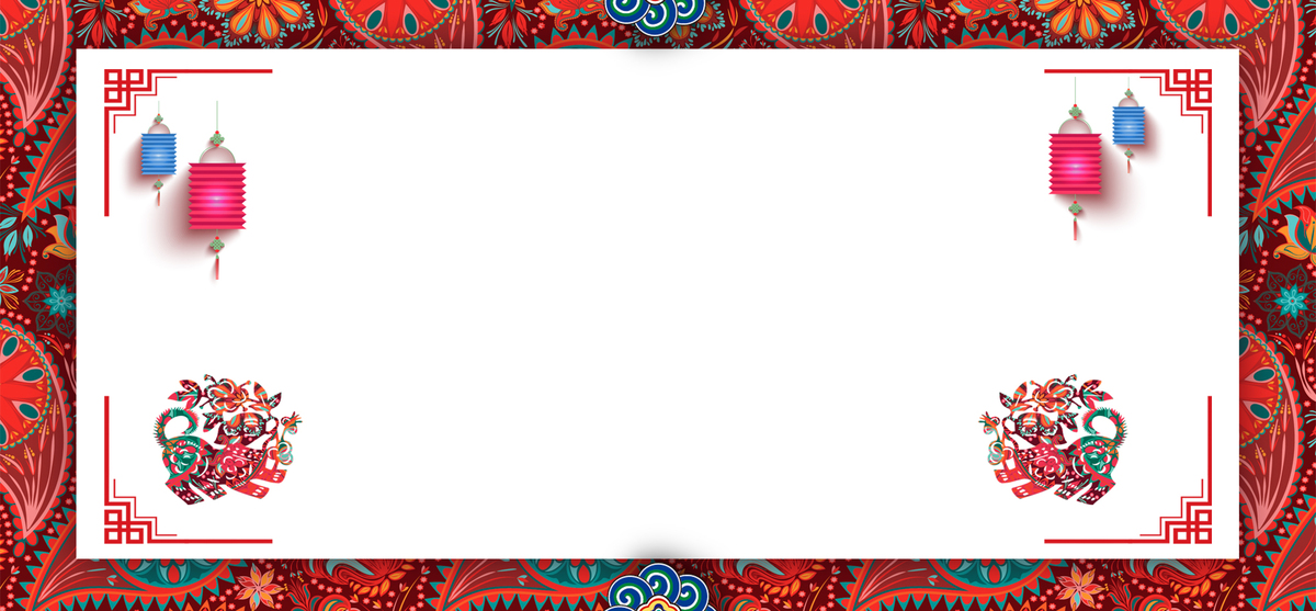 狗年服饰中式风格海报psd分层_psd素材免费下载_ 1920