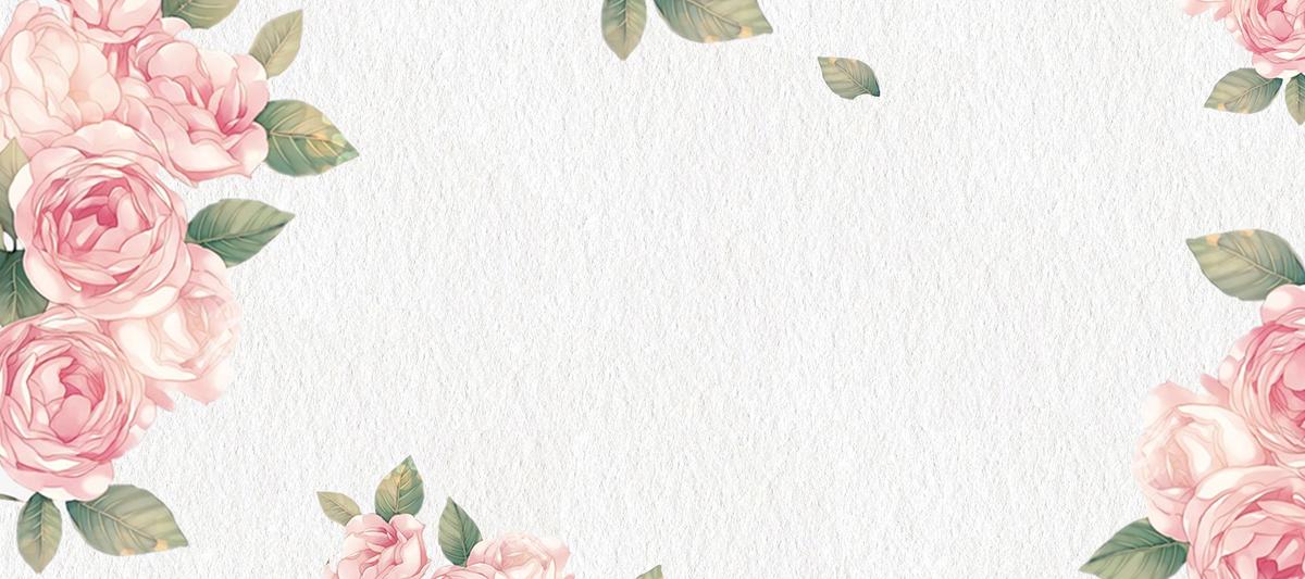 16:18 90设计提供玫瑰情人节文艺小清新背景设计素材下载,高清psd格